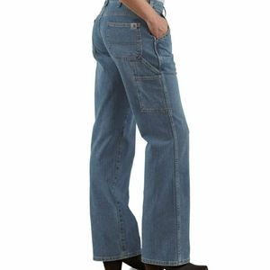 Carhartt Womens Wide Leg Carpenter Jeans Y2K 90s